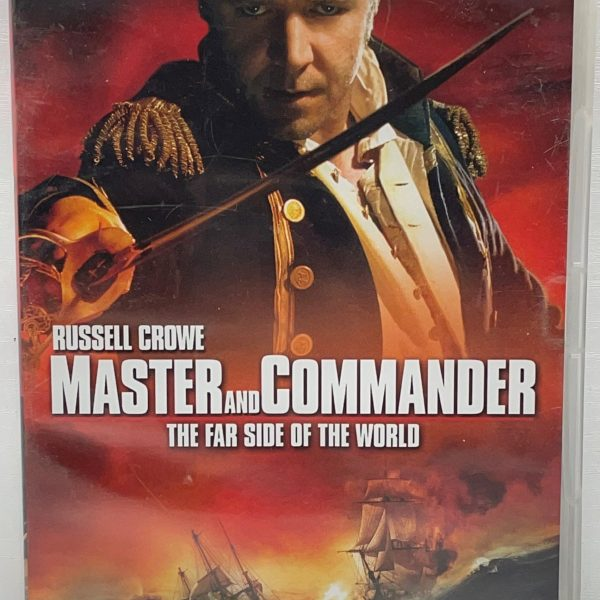 Master And Commander The Far Side Of The World Cert (12) Used VG Condition