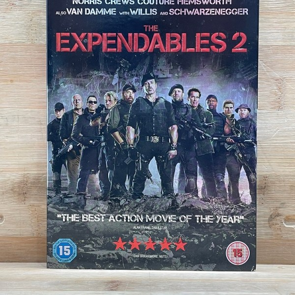The Expendables 2 Cert (15) Used VG