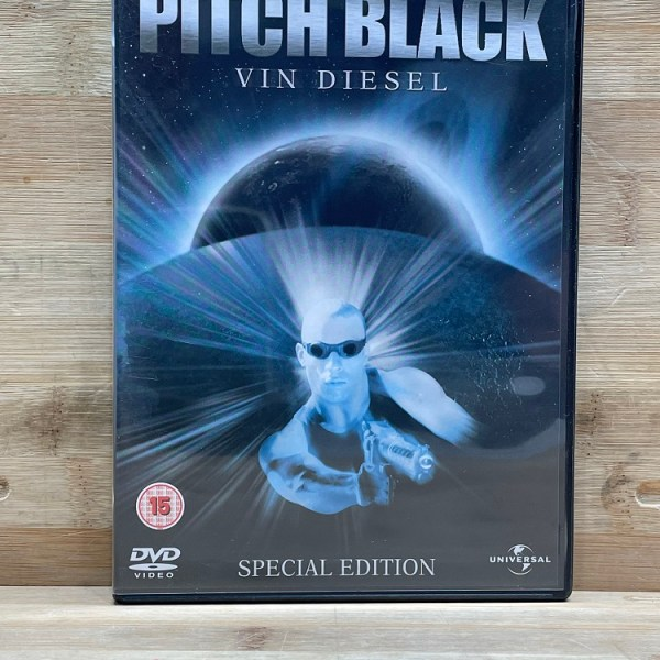 Pitch Black Special Edition Cert (15) Used VG