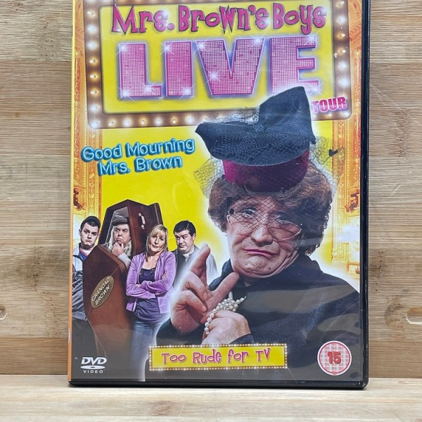 Mrs Browns Boys Live Good Mourning Mrs Brown Cert (15) Used VG