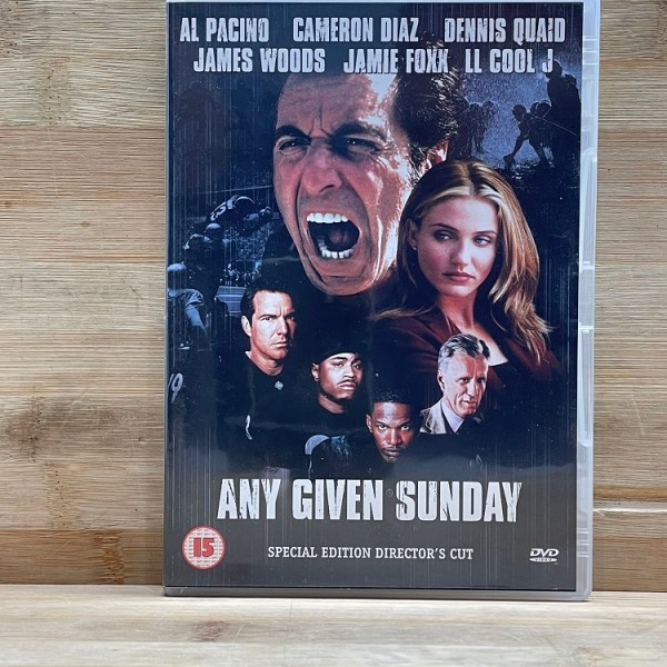 Any Given Sunday Cert (15) Used VG