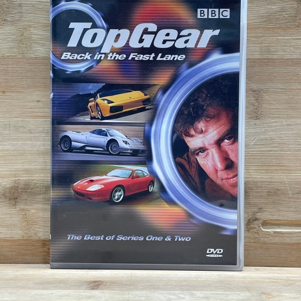 Top Gear Back In The Fast Lane The Best Of Series One & Two Used VG