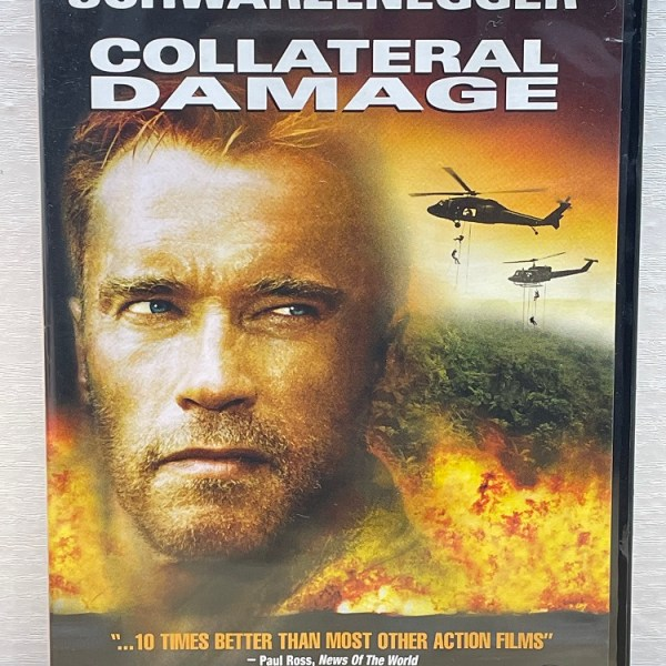 Collateral Damage Cert (15) Used VG