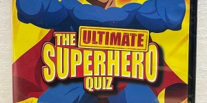 The Ulimate Superhero Quiz Interactive Dvd Game New
