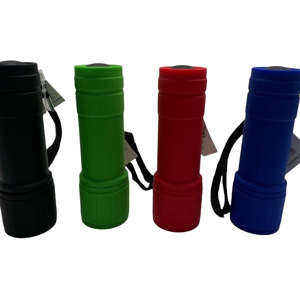 Charles Birch 9 Led Torch Various Colours