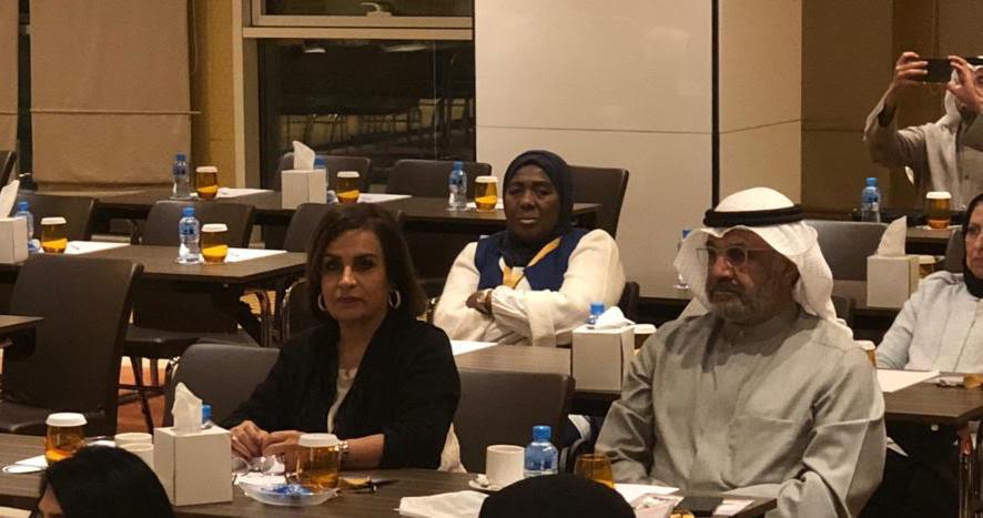 مشاركة أ.لولوه الملا رئيس مجلس الادارة في ورشة عمل رؤية الكويت 2035م بين المحددات والاستحقاقات