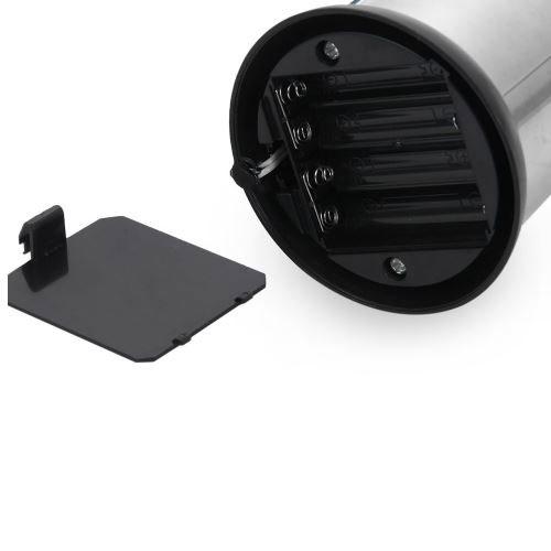 rvs zeepdispenser batterijen