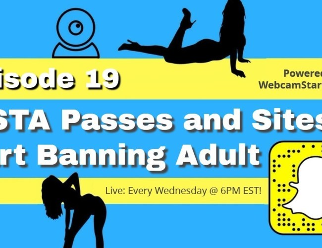 Podcast 19: SESTA and Services Banning Pornstars / Adult Content