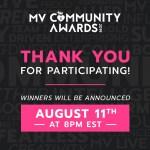 ManyVids MV Community Awards
