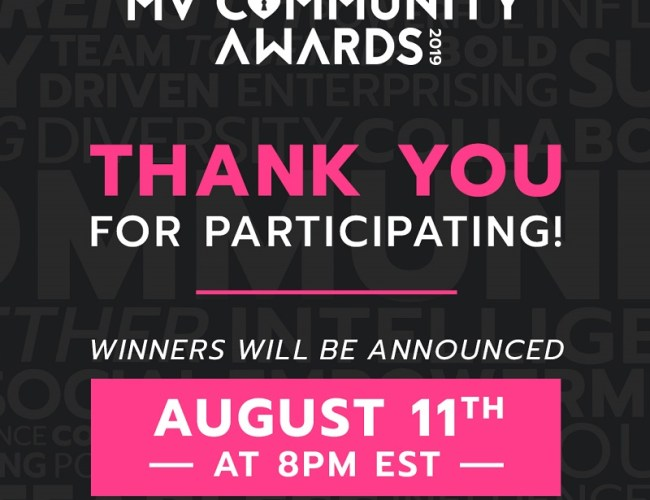 ManyVids MV Community Awards: Finalists Announced!