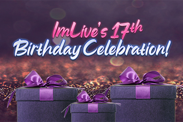ImLive's 17th Birthday Celebration: Raffles, Discounts and more!