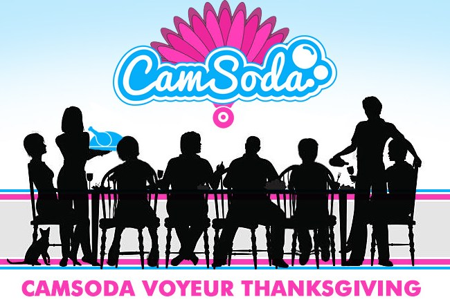 Camsoda wants to live stream Thanksgiving Dinner