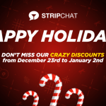 Stripchat Holiday Token Bonus