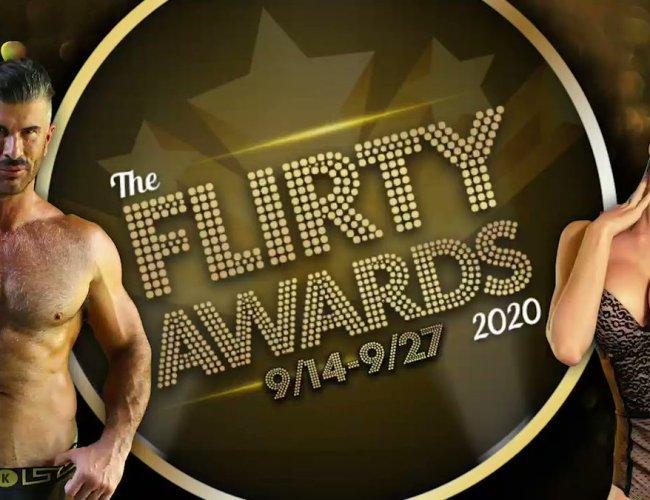 The Flirt4Free Flirty Awards 2020 (Sept. 14 – 27, 2020)