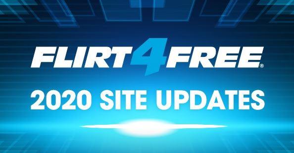 Flirt4Free updates main page layout