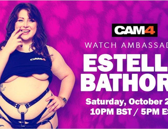 Cam4 names Estella Bathory as UK Brand Ambassador