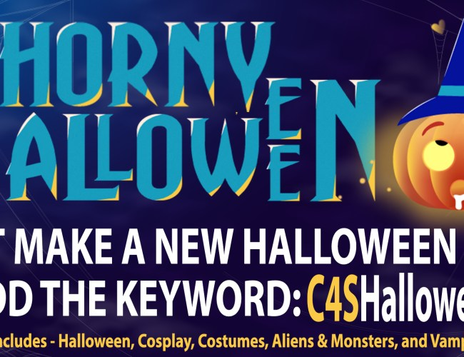 """Clips4Sale """"Horny Halloween"""" Clip Promotion (October 2020)"""