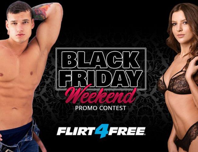 Flirt4Free Black Friday Contests (Nov. 26-29, 2020)