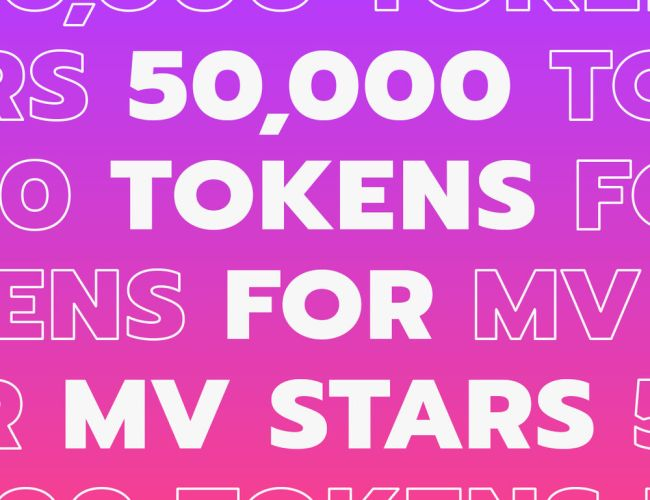 Manyvids giving away 50k tokens on MV Live (Dec. 3, 2020)