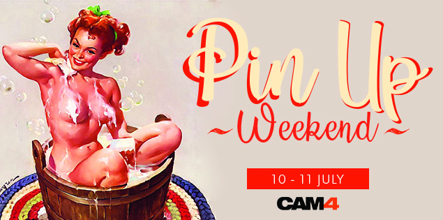 Cam4 Pin-Up Twitter Contest (July 10-11, 2021)