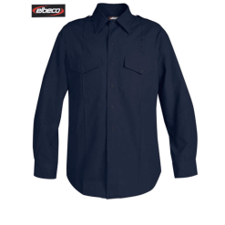 Station Wear Shirt Navy Blue for Women