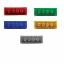 Interchangeable LED Modules -Color Lens clear LEDs