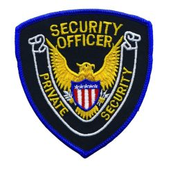Private Security Officer Shoulder Patch