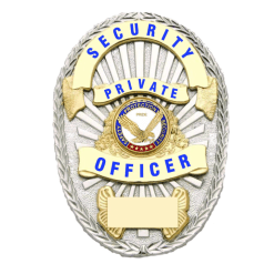 Private Security Officer Badge