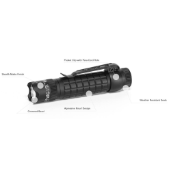 Maglite Mag-Tac Tactical LED Flashlight Scalloped Non-Scalloped SG2LRE6 SG2LRA6