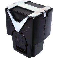 PhaZZer 30ft Rubber Ball Cartridge - Black Blast Doors