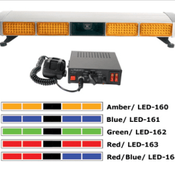 Opti-Range LED Lightbar with Speaker & Siren