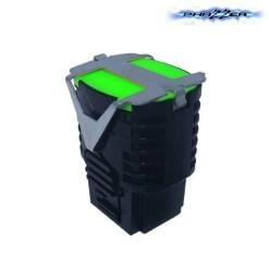 PhaZZer 21ft Dart Pro Cartridge - Lime Green Blast Doors