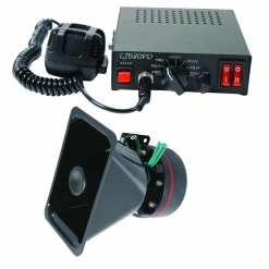 Siren, Megaphone and Speaker Set 80W or 100W
