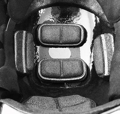 SkarrArmor NIJ iiia/V50 Helmet Jet Black