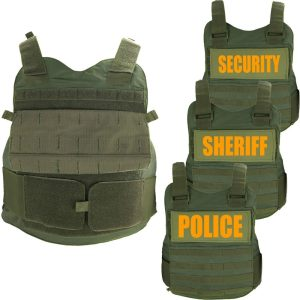 First Class ARX Olive Green Tactical Body Armor Threat Level IIIA - NIJ 06 Certified