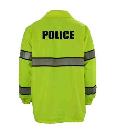 Police First Class High Visibility Windbreaker