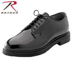 Rothco 5055 Rothco Uniform Hi-Gloss Oxford Dress Shoe