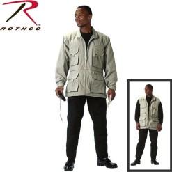 Rothco 7590 Convertible Safari Jacket
