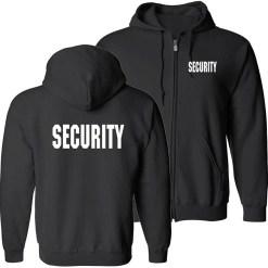 Zippered Hooded Sweatshirt JS11