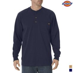 Dickies Long-Sleeve Heavyweight Henley WL451