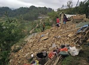 Destruction in the Village