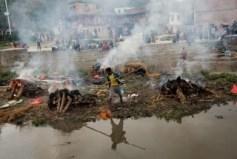 Cremation in Kathmandu