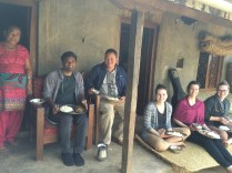 Lunch at Pastor Madan's home