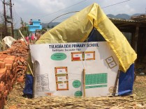 Earthquake evacuation plan in Kotgaon