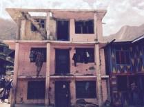 Earthquake cracks and damage near Nessing