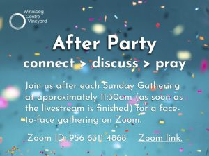 After Party on Zoom
