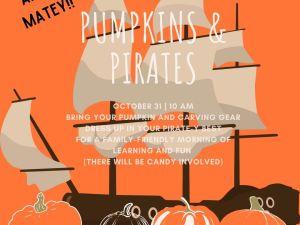 Pumpkins & Pirates Sunday