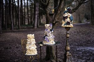World Class Weddings choccywed4-300x200 Something New! Chocolate Sculpted Wedding Cakes