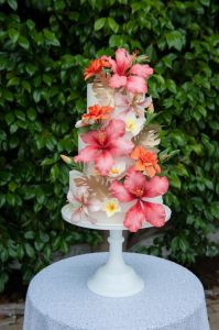 World Class Weddings hawaiin-wed-cake-199x300 The Art of The Cake