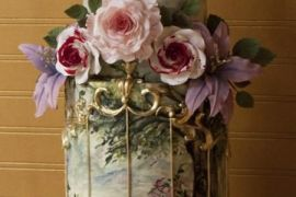 World Class Weddings painted-wedding-cake Confectionately Yours!